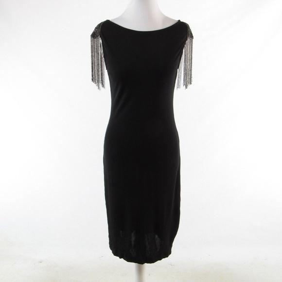 Foley Corinna Dresses Foley Corinna Black Sleeveless Sheath